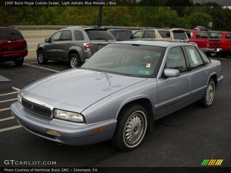 1995 Buick Regal Custom 1995 buick regal custom sedan in light adriatic blue