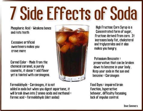 7 Side Effects of Soda [INFOGRAPHIC] ? fueled by vegetables