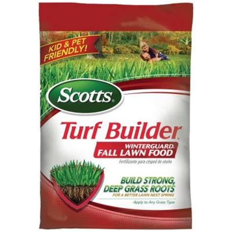 scotts 12 5 lb 5 000 sq ft turf builder winterguard