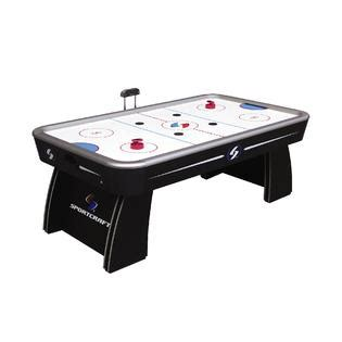 sportcraft  ft classic electronic air hockey table