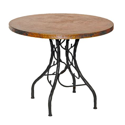 wood and iron table pictured here is the south fork bistro table with 36