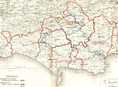 map  dorset