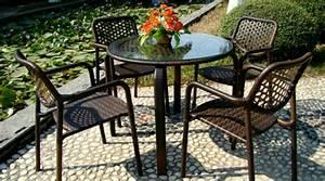 Gartenmöbel Set Runder Tisch : gartenm bel set alu gehobene eleganz im garten ~ Bigdaddyawards.com Haus und Dekorationen
