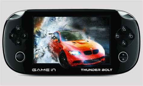 android console gamein thunder bolt mitashi launches portable android