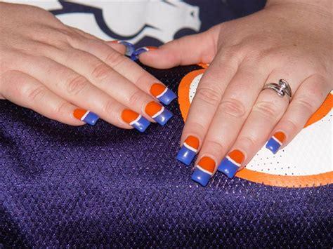 denver broncos nail designs denver bronco nails nail gallery