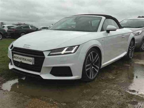 Audi 2015 15 Tt S Line Tfsi New Face Lift Model Unrecorded