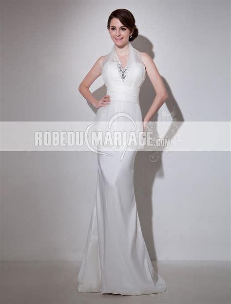 robe de mariee moderne et originale robe pas cher robe de mari 233 e originale moderne col en v satin sur mesure robe206958