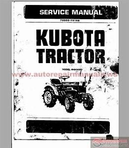 Kubota Tractor B6000 Service Manual