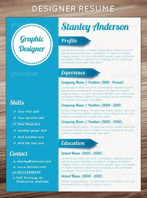 Designers Cv Template by Designer Resume Career Above And Beyond Resumes