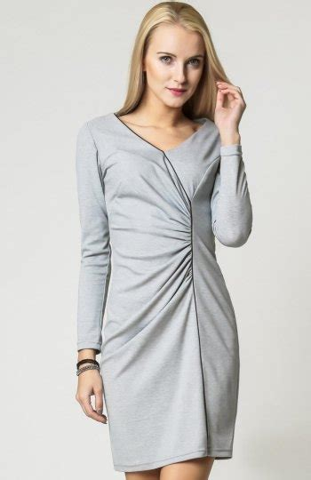 vera fashion agnes sukienka szara oryginalna sukienka