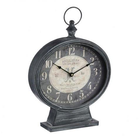 Horloge A Poser Sur Un Meuble Horloge 224 Poser Sanzio Gris Accessoire D 233 Co Eminza