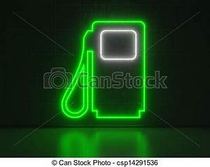 Gasoline Pump Series Neon Signs Drawing Instant