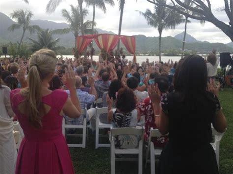 tulsi gabbard marries abraham williams  vedic ceremony