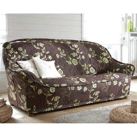 housse de canapé chocolat housse de canapé 3 places bourdon poésie chocolat vert