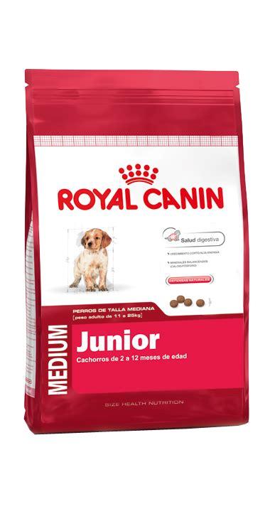 royal canin medium junior medium junior nutrici 243 n para perros royal canin