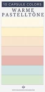 Was Sind Pastellfarben : capsule colors deine 10 besten farben farbberatung und ~ Lizthompson.info Haus und Dekorationen