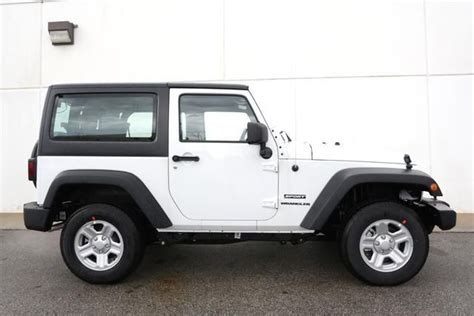 suv jeep white 2013 jeep wrangler sport 4x4 sport 2dr suv suv 2 doors