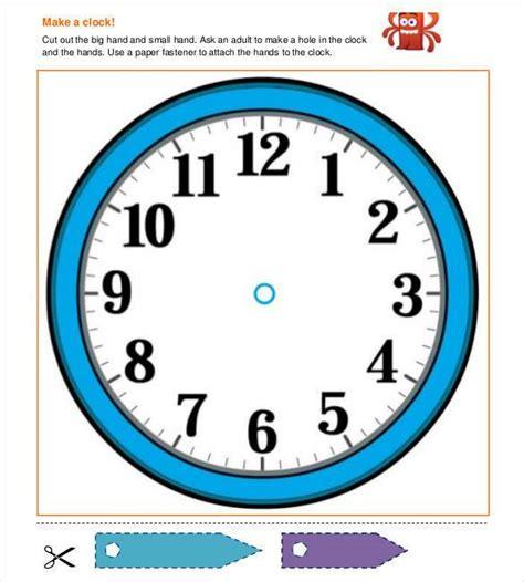 printable clock templates    premium