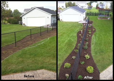 fence landscaping perfect image outdoor services fence landscaping