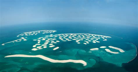 sinking islands in the world dubai s world of islands is sinking into the sea the world