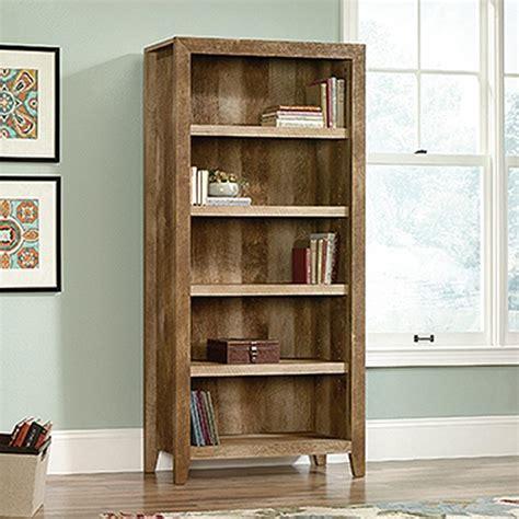 5 Ft Bookshelf by Sauder Dakota Pass Craftsman Oak Open Bookcase 418546