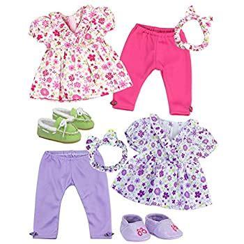 Amazon com: Baby Alive Fashion Cutie Reversible Dress