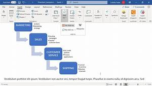 How To Create A Microsoft Word Flowchart