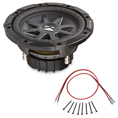 sub installation kit kicker cvr10d4 compvr series 10 quot 400 watt rms dual 4 ohm subwoofer with installation kit hpca