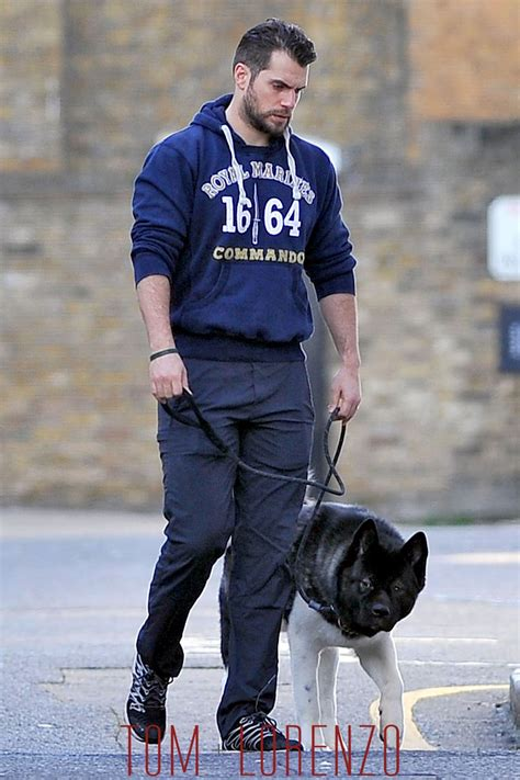 Henry Cavill Walks his Dog in London | Tom + Lorenzo