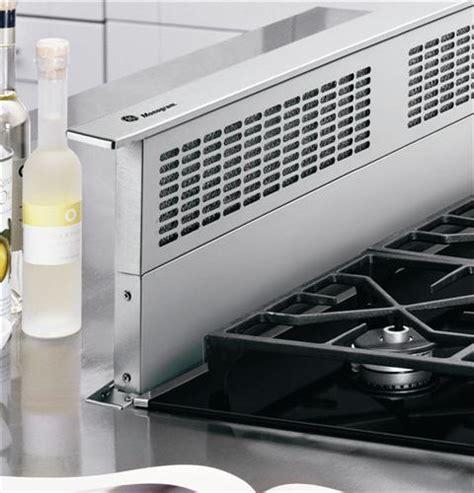 zvbsbss ge monogram  stainless steel telescopic downdraft vent hood monogram appliances