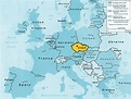 Where Is Prague On A World Map - CYNDIIMENNA