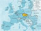 Where Is Prague On A World Map - CYNDIIMENNA
