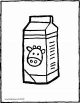 Milk Carton Colouring Drawing Coloring Pages Kiddicolour 01v Draw Kawaii Drawings Recipe Should Email Painting Recipient sketch template