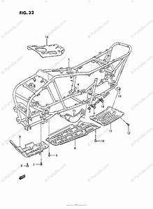 Suzuki Atv 1992 Oem Parts Diagram For Frame