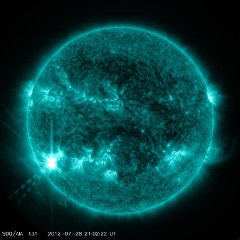 NASA - Sun Emits a Medium-Intensity Solar Flare