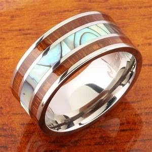 Hawaiian jewelry mens wedding rings style guru fashion for Mens hawaiian wedding rings