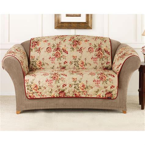Outdoor Sectional Sofa Walmart by Sure Fit 174 Lexington Floral Sofa Pet Cover 292857