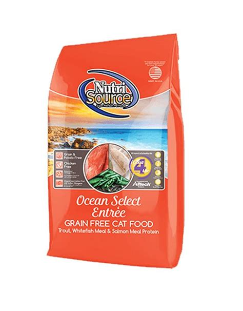 nutrisource nutrisource grain  ocean select cat food