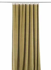 Rideau Velours Vert : rideau occultant m dicis en velours de coton vert moussee pr t poser 130x280 cm ~ Teatrodelosmanantiales.com Idées de Décoration