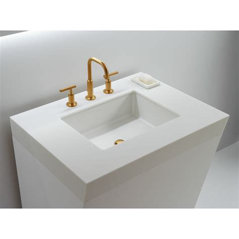 Rectangular Sinks Bathroom by Kohler Verticyl Rectangular Undermount Bathroom Sink With
