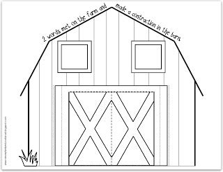 barn template relentlessly deceptively educational on the farm