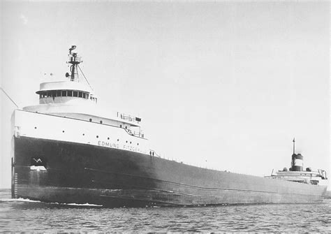 Where Did The Ss Edmund Fitzgerald Sank by Ss Edmund Fitzgerald In 1971 Ss Edmund Fitzgerald Was An