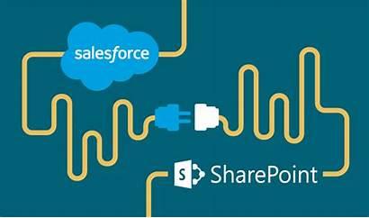 Salesforce Sharepoint Integration Collaboration Cloud Management Outside