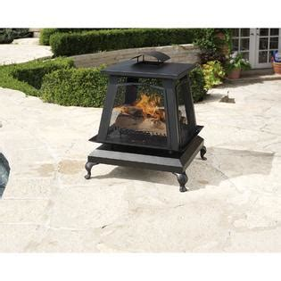 Charbroil Trentino Outdoor Fireplace With Removable Screens