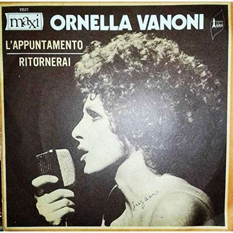 Born september 22, 1934, to a milanese family, italian singer ornella vanoni spent most of her twenties alternating between theater. SCARICA ORNELLA VANONI APPUNTAMENTO