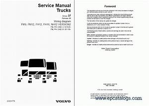 Volvo Fm7  9  10  12  Fh12  16  Nh12 Wiring Diagrams  Repair Manual  Trucks    Buses Repair