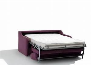 acheter votre canape lit en 120 140 ou 160 cm chez simeuble With canapé lit 120 cm largeur