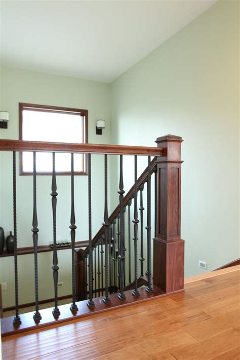 wrought iron banister stair systems wood staircase with wrought iron balusters