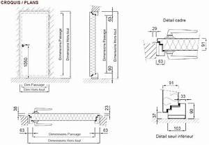 Dimension Porte Standard Exterieur : cadre de porte metallique id es d coration int rieure ~ Melissatoandfro.com Idées de Décoration