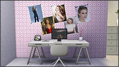 taylor swift posterpainting collection  tatschus sims